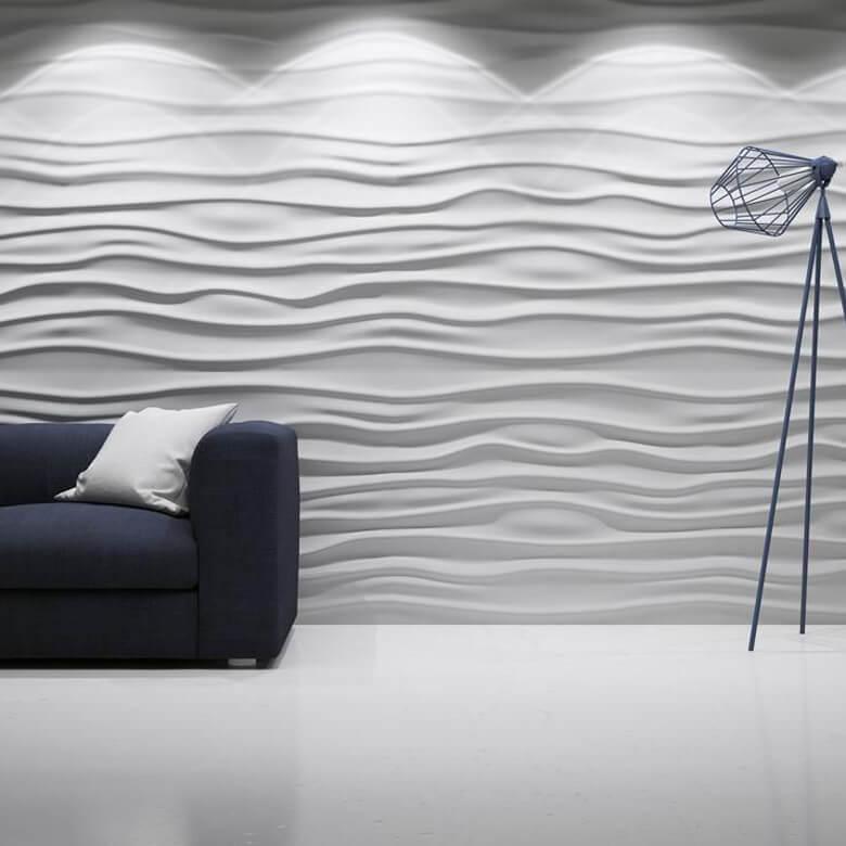 Panele Dekoracyjne 3d Modne Wykończenie ścian Multi